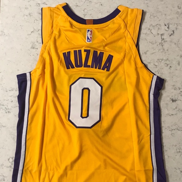 official photos 97be4 358af 2018 Kyle Kuzma Los Angeles Lakers Swingman Jersey NWT